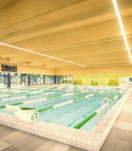 Zwijndrechtse facebookers zien niets in plan voor nieuw zwembad: 'Veel tegels, weinig bad'