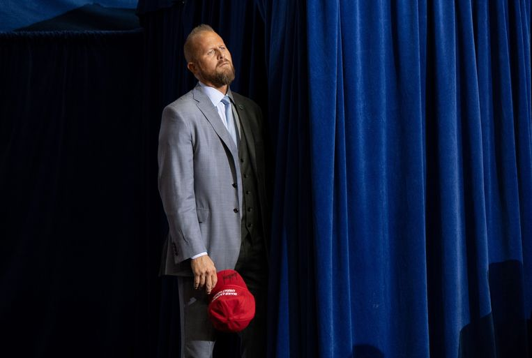 Brad Parscale, de campagnemanager van de huidige president van de VS, Donald Trump.