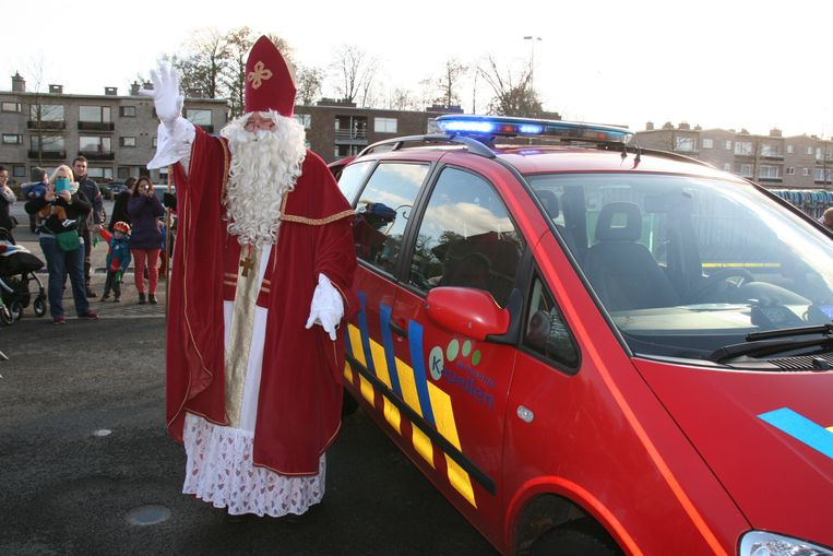 Sinterklaas komt naar Kapellen.
