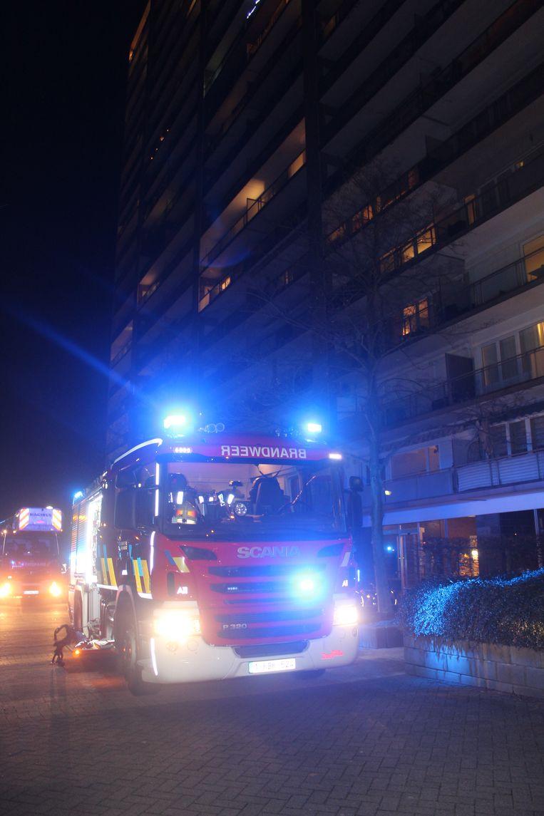 Brandweerzone Oost Limburg kwam dinsdagavond massaal ter plaatse.