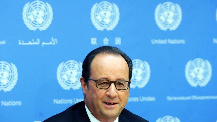 François Hollande à l'ONU.
