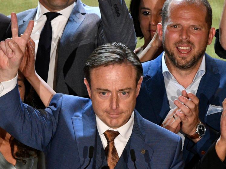 Parlement flamand: la N-VA reste en tête, suivie du Vlaams Belang