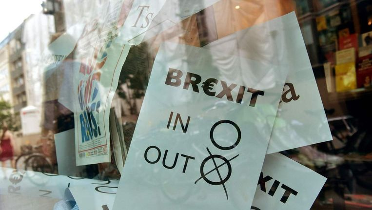 Het Britse vertrek komt mogelijk een jaar later dan verwacht. Beeld anp
