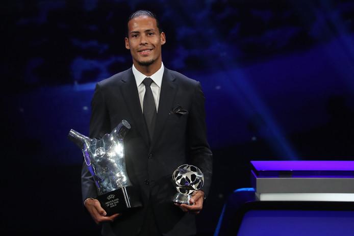 Virgil van Dijk werd in augustus verkozen tot UEFA-voetballer van het jaar