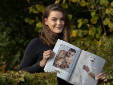 Emma Buijs uit Veldhoven schittert als fotomodel in modeblad: 'Gelukkig niet alleen met de hand in de Elle'