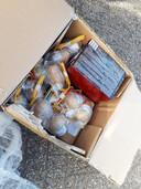Een doos vol mortierbommen en flowerbeds was onderdeel van de partij illegaal vuurwerk, die recent is gevonden in Winterswijk.