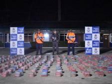 2,2 ton cocaïne voor Antwerpen onderschept