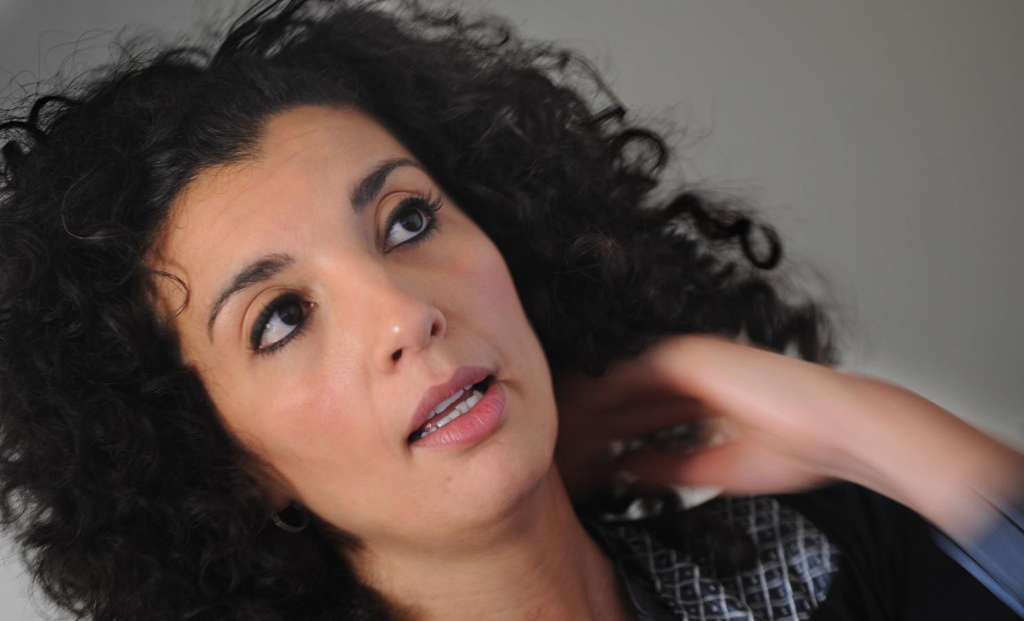 Culinair schrijver en presentatrice Nadia Zerouali.