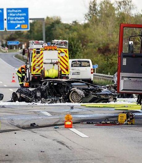Lamborghini knalt met hoge snelheid op een Skoda: laatste beelden voor fatale crash