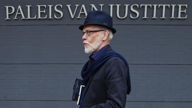 Martien Hunnik verlaat de rechtbank eind mei. Beeld anp
