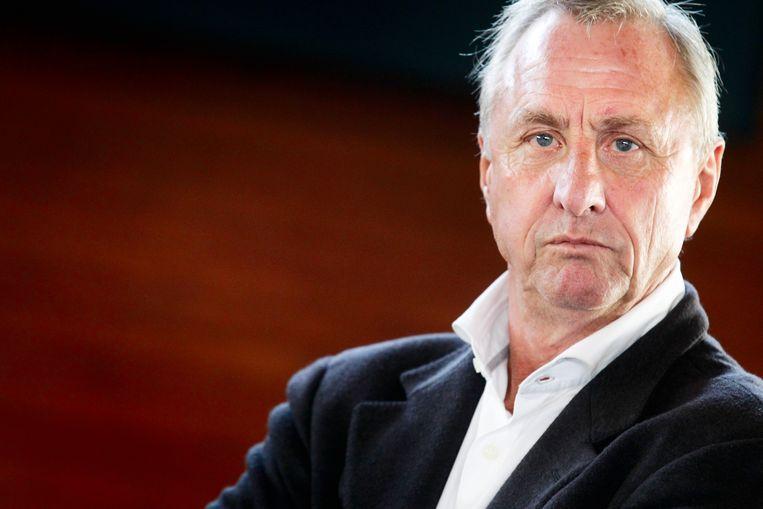 Achter de uitspraken van Johan Cruijff schuilt een fascinerend gedachtengoed, zegt professor Rob Siekmann. Beeld ANP