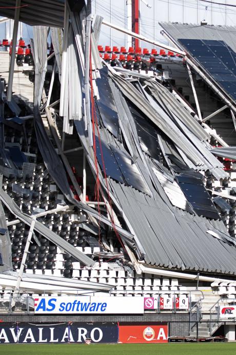 Ook hoofdtribune AZ-stadion krijgt nieuw dak