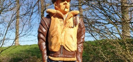 Wie helpt Wings to Victory aan levensgrote houten RAF-piloot?