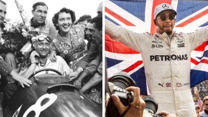 """Hamilton met vijf titels naast Argentijnse legende: """"Binnen enkele jaren evenaart hij ook Schumacher"""""""