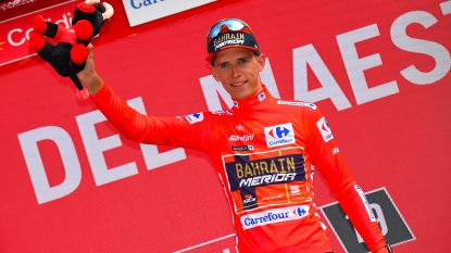 """Tevreden bondscoach ziet hoe Teuns leiderstrui grijpt in Vuelta: """"Dylan zit met WK in achterhoofd"""""""