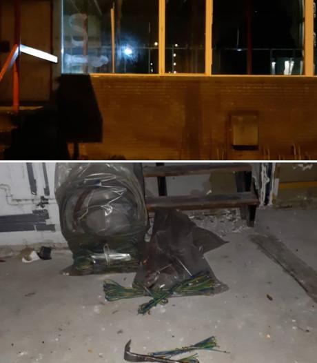 Politie voorkomt diefstal koper uit 'sloopsporthal' in Wageningen