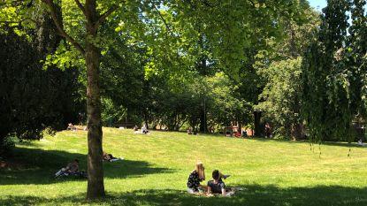 Een zonnige Hemelvaartsdag, maar toch is het opvallend rustig in de studentenstad