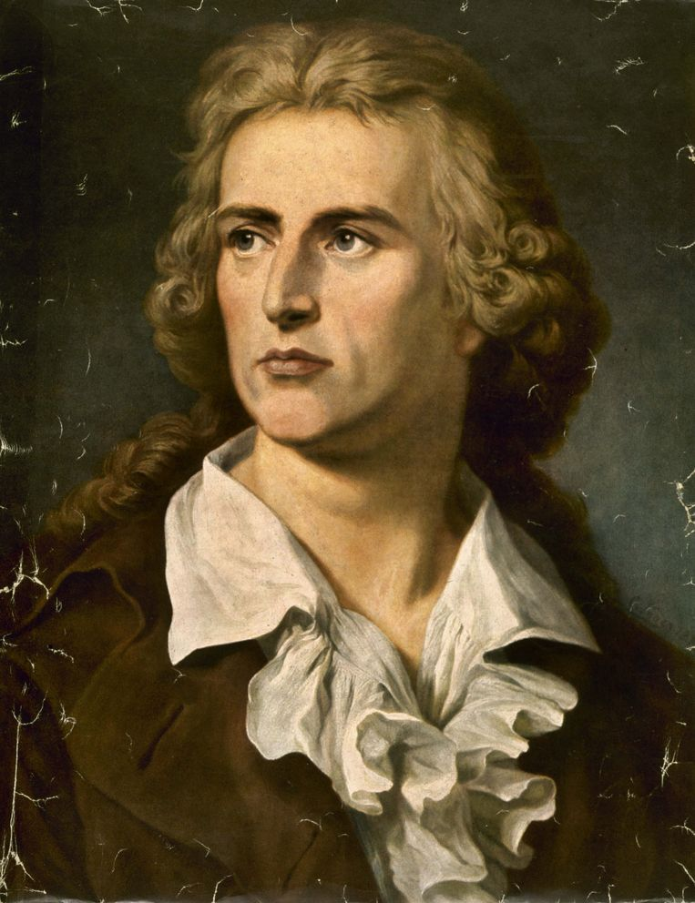 De Duitse schrijver Friedrich von Schiller (1759-1805) Beeld Getty