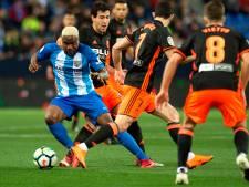 Valencia klopt hekkensluiter Malaga in slotfase