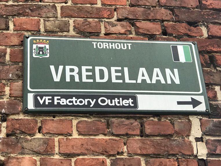 De inbraak was in de Vredelaan in Torhout.