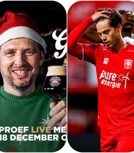 Grolsch organiseert grote Kerstproeverij & wat moet FC Twente-speler Pierie met vaseline?
