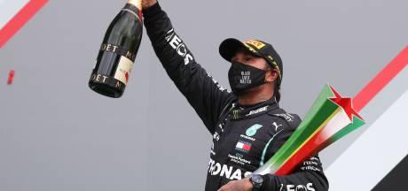 Lewis Hamilton devient le pilote le plus titré de l'histoire après sa 92e victoire au GP du Portugal