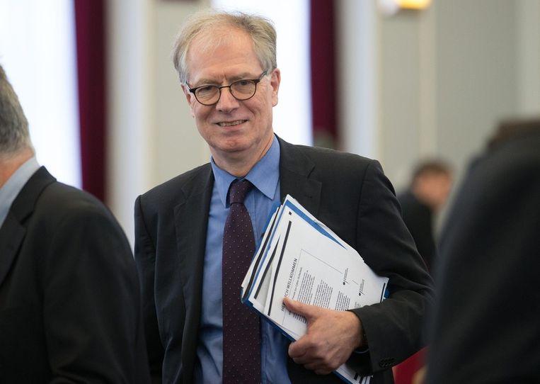 Michael Hange is voorzitter van het Bundesamt für Sicherheit in der Informationstechnik (BSI). Beeld epa