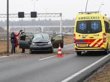 Wonder boven wonder geen gewonden bij ongeval op A2 bij Eindhoven