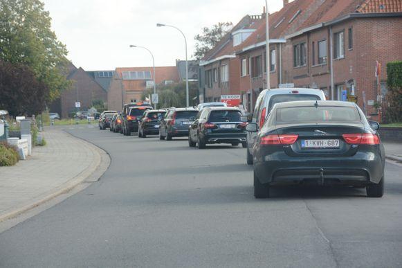Ook de Gaverlandstraat krijgt heel wat sluipverkeer te slikken.