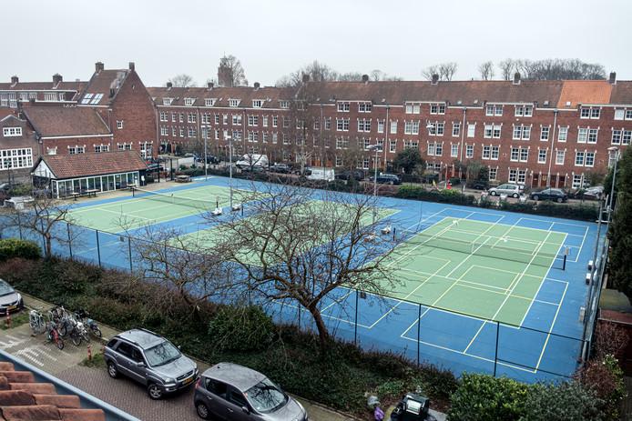 De nieuwe kleuren van de tennisbanen zouden het zicht op de bal verbeteren.