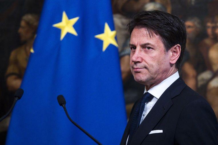 Italiaans premier Giuseppe Conte