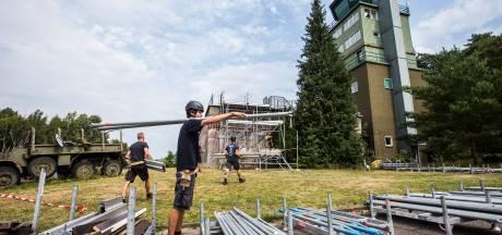 Onzekerheid stopt festivals op vliegbasis niet: opbouw gestart