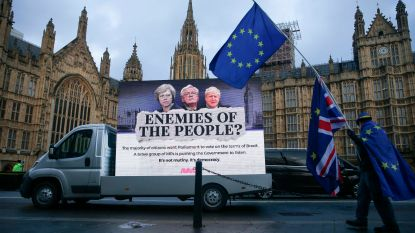Het 'doomsday'-scenario voor de brexit: haven van Dover na één dag plat, voedseltekort na één week