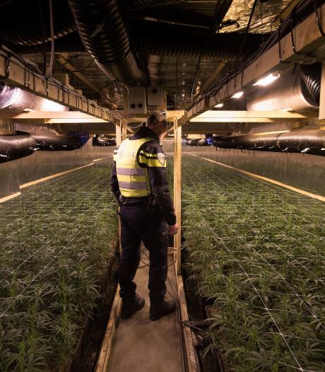 Burgemeester sluit drugsloods met 2500 planten achter winkelpand in centrum van Vorden
