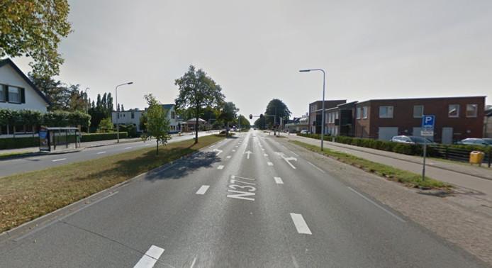 Ongeveer een kwart van de bestuurders op de N377 in Slagharen reed vanmorgen te hard.