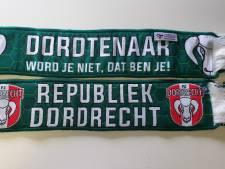 Verkoop van sjaals moet supporters FC Dordrecht nieuwe geluidsintallatie geven