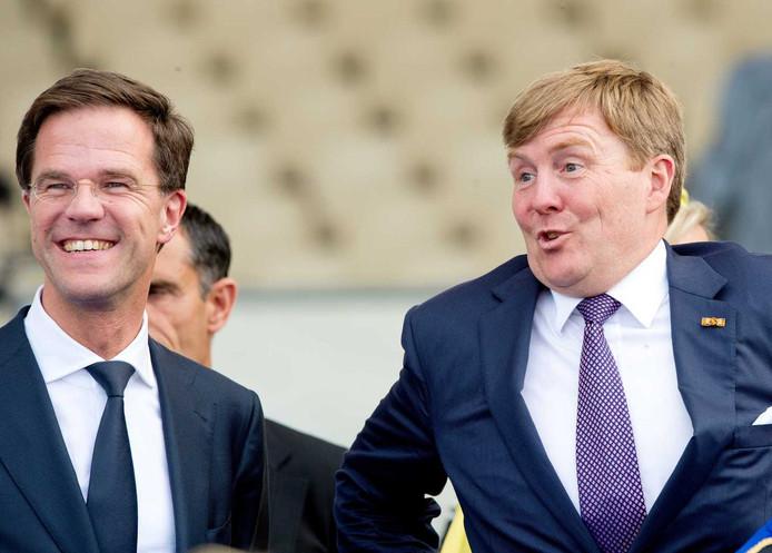 Rutte heeft het liever niet over de belastingdeal van de Oranjes.