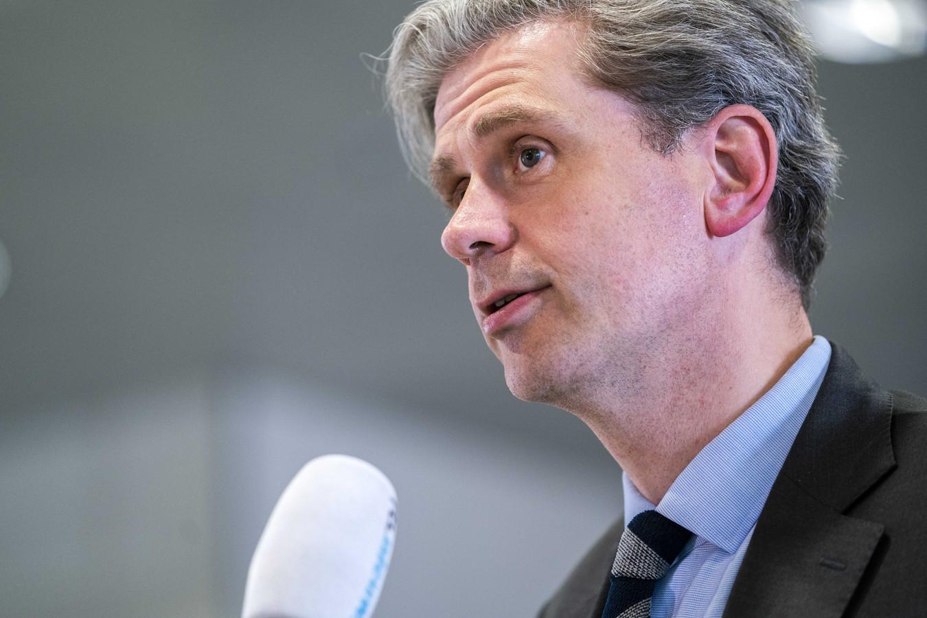 Wouter Kolff,  burgemeester van Dordrecht en voorzitter van de veiligheidsregio Zuid-Holland Zuid.