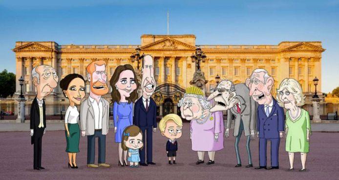 La famille royale britannique selon Gary Janetti