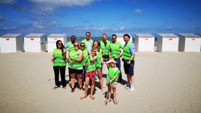 Jeugdvakantiecentrum Barkentijn moedigt gasten aan zwerfvuil te ruimen op het strand