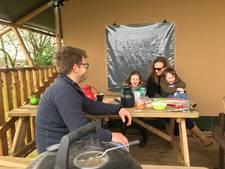 Guur paasweer houdt campingliefhebbers niet tegen