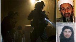 """""""Ze sleepten hem de trap af. Zijn hoofd raakte elke trede"""": vrouw Osama bin Laden vertelt voor het eerst over nacht dat haar man werd gedood"""