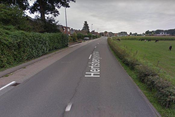 De fietspaden langs de Hertsbergsestraat worden aangepakt.