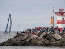 Druk feestje bij de één, dichte deur bij de ander door Volvo Ocean Race
