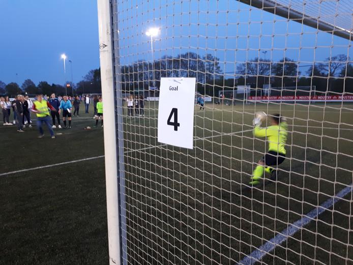 Een van de 1.459 penalty's in Uden.