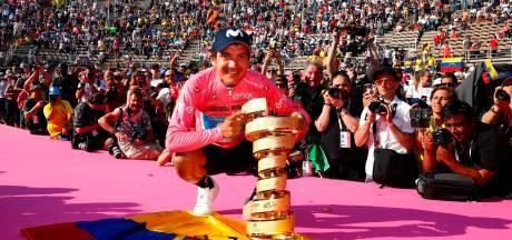 Trotse Ecuadorianen zien Carapaz grootste sportprestatie ooit leveren