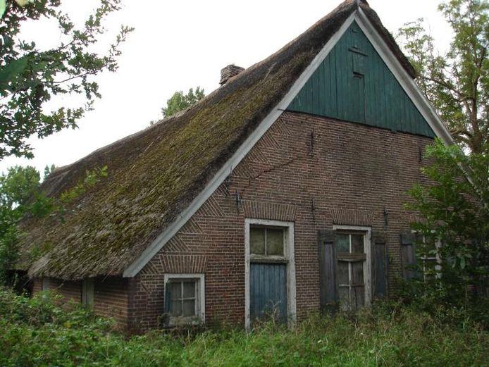 Het meest recent werd de boerderij aan de Vilsterborg gebruikt als veestal. Het pand is behoorlijk in verval. foto Wim de Jonge