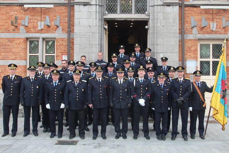 De vrijwilligers van brandweerpost Lede vierden de feestdag van hun patroonheilige Sint-Barbara.