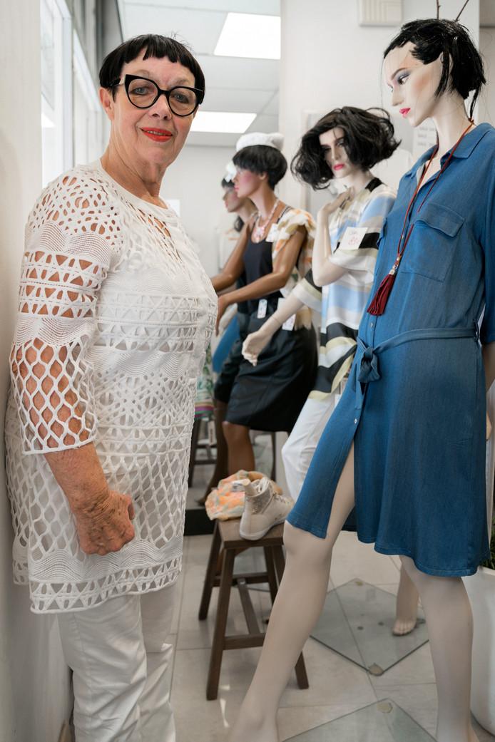 Hetty Biemans, van modewinkel Pescade, sluit de deuren na bijna veertig jaar.