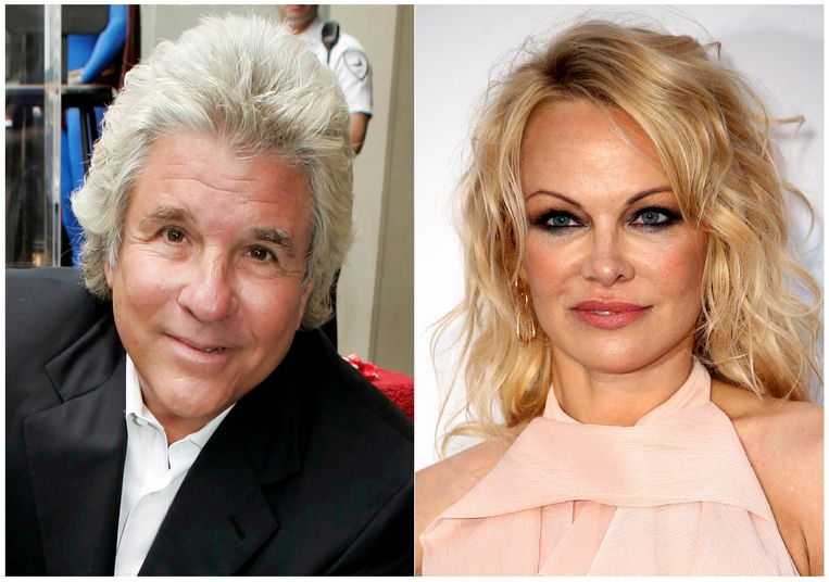 Jon Peters en Pamela Anderson .